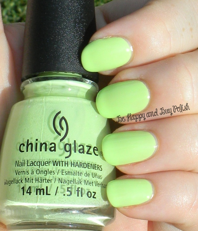 China Glaze Be More Pacific | Be Happy And Buy Polish