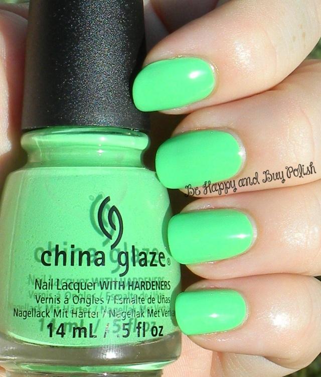 China Glaze Shore Enuff | Be Happy And Buy Polish