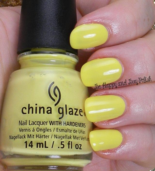 China Glaze Sun Upon My Skin | Be Happy And Buy Polish