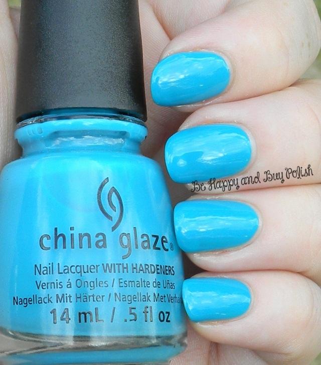 China Glaze Wait N' Sea | Be Happy And Buy Polish