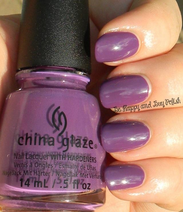 China Glaze X-Ta-Sea | Be Happy And Buy Polish