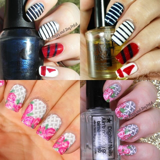 Mani Swap with ManicTalons.com | Be Happy And Buy Polish
