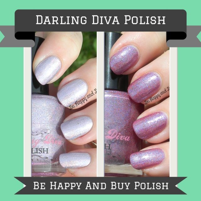 Darling Diva Polish Pink Diamond and Snatchgame | Be Happy And Buy Polish