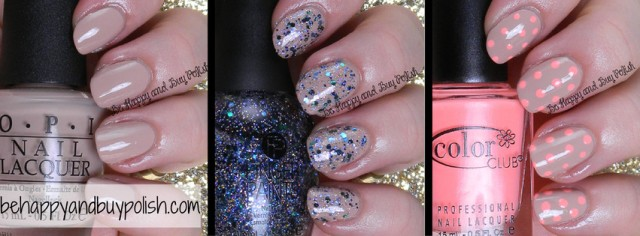 OPI Don't Pretzel My Buttons collage | Be Happy And Buy Polish
