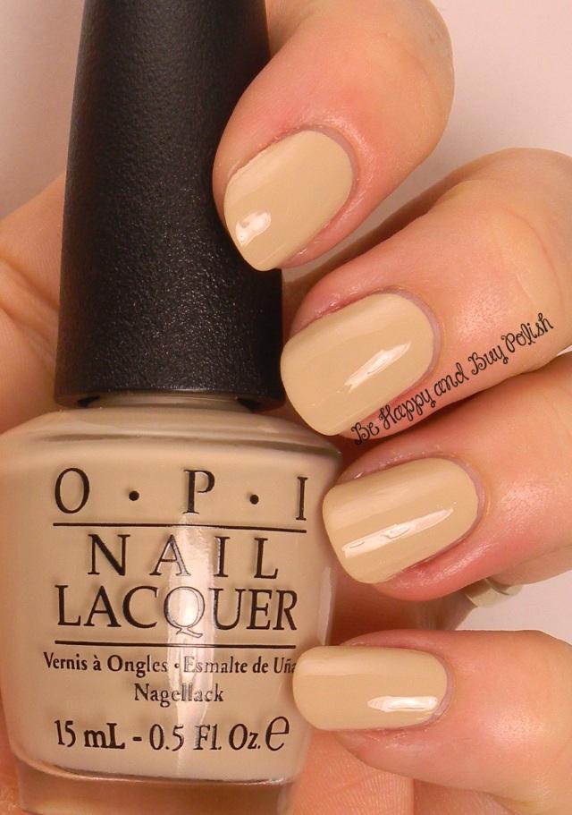 OPI You're So Vain-illa | Be Happy And Buy Polish