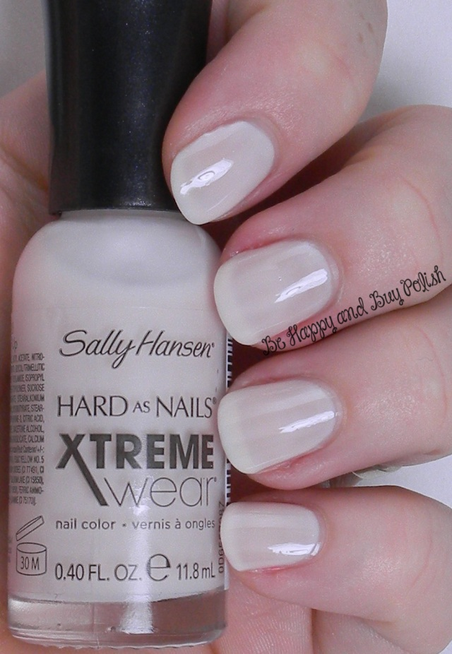 Sally Hansen Xtreme Wear Pearl Up | Be Happy And Buy Polish