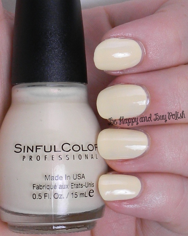 Sinful Colors Beaches and Cream | Be Happy And Buy Polish