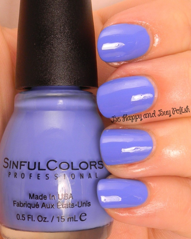 Sinful Colors Blue La La | Be Happy And Buy Polish