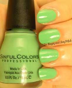 Sinful Colors Mint Tropics | Be Happy And Buy Polish