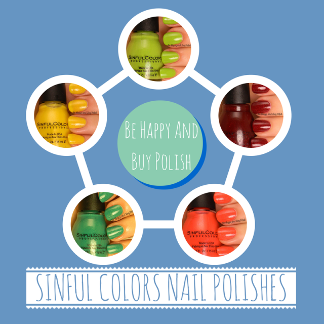 Sinful Colors Nail Polishes | Be Happy And Buy Polish