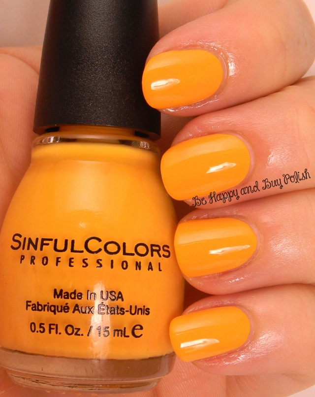 Sinful Colors On the Bright Side | Be Happy And Buy Polish