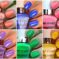 Wet N Wild Summer 2014 Limited Edition MegaLast Nail Colors