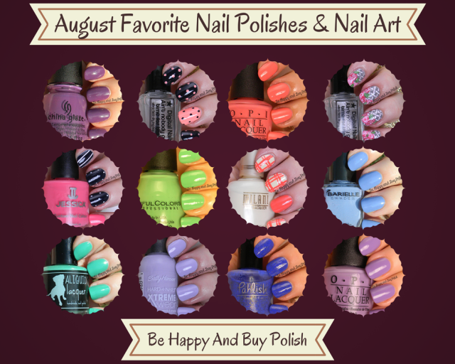 August favorites | Be Happy And Buy Polish