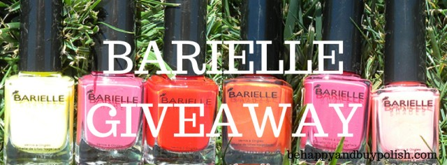 Barielle Keys Giveaway | Be Happy And Buy Polish