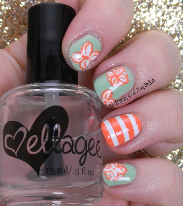 Jessica Sharktooth, Color Club La Petit Mint-Sieur, Jessica Tangerine Dreamz | Be Happy And Buy Polish