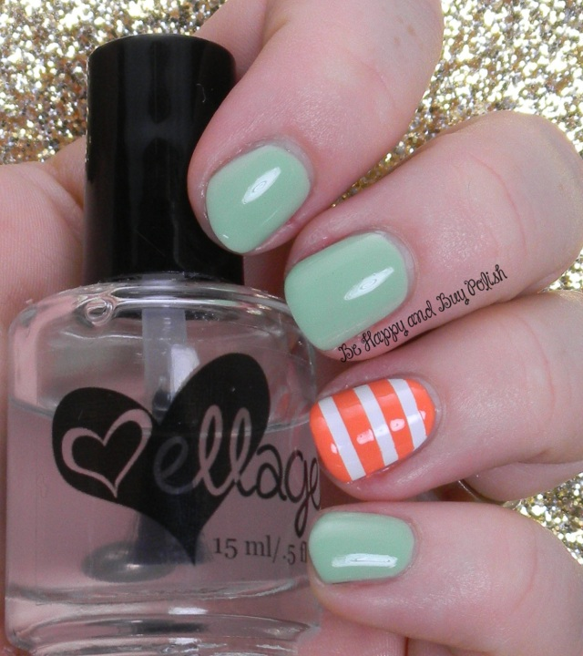 Jessica Sharktooth, Color Club La Petit Mint-Sieur, Jessica Tangerine Dreamz | Be Happy And Buy Polish