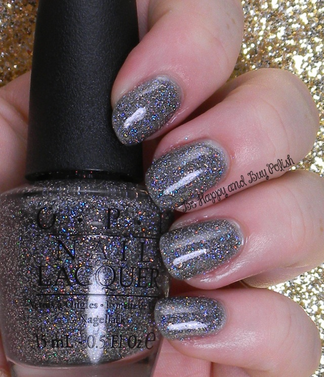 OPI My Voice Is a Little Norse with top coat |  Be Happy And Buy Polish