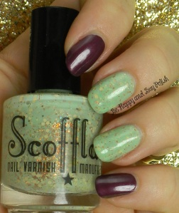 Scofflaw Arcane Sugar with OPI Catherine the Grape | Be Happy And Buy Polish