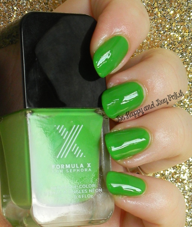 Sephora Formula X Radioactive | Be Happy And Buy Polish