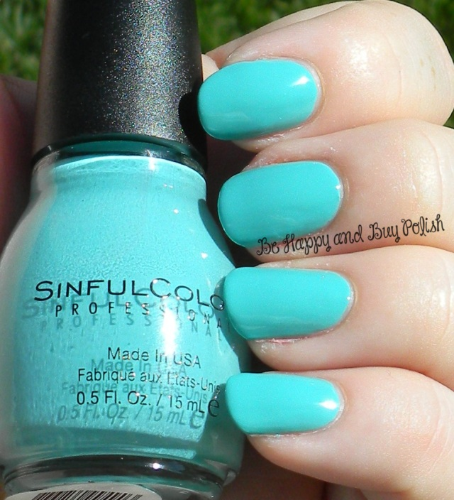 Sinful Colors Teal the End | Be Happy And Buy Polish