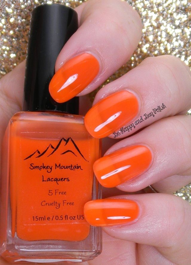 Smokey Mountain Lacquers Scarecrow Blood | Be Happy And Buy Polish