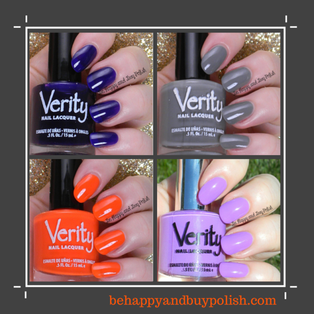 Verity creme polishes | Be Happy And Buy Polish