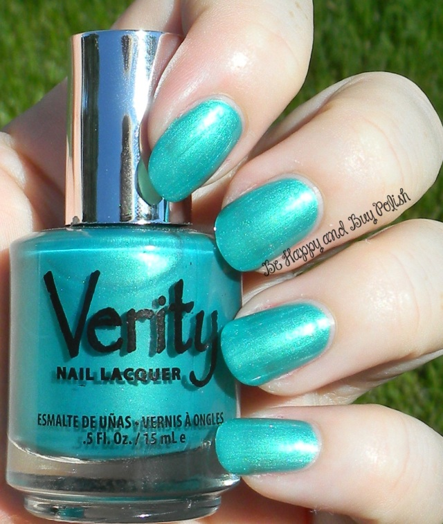 Verity Metallic Green | Be Happy And Buy Polish