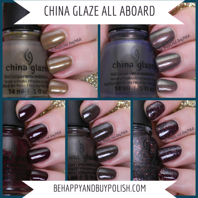 China Glaze All Aboard | Be Happy And Buy Polish