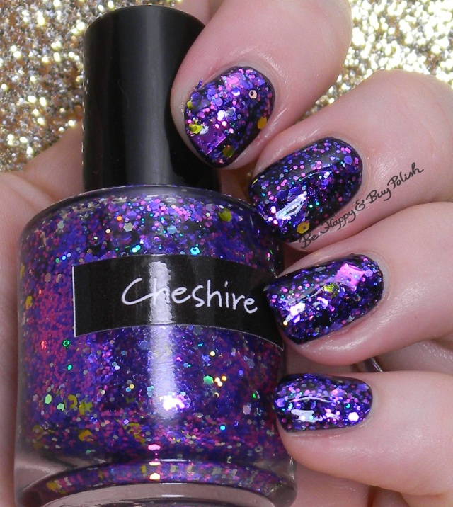 CrowsToes Cheshire over Pahlish Rubbish Robots | Be Happy And Buy Polish