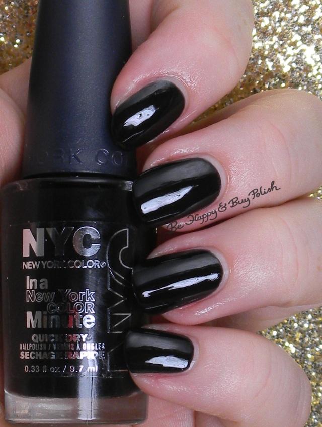 NYC New York Color Black Elixir | Be Happy And Buy Polish