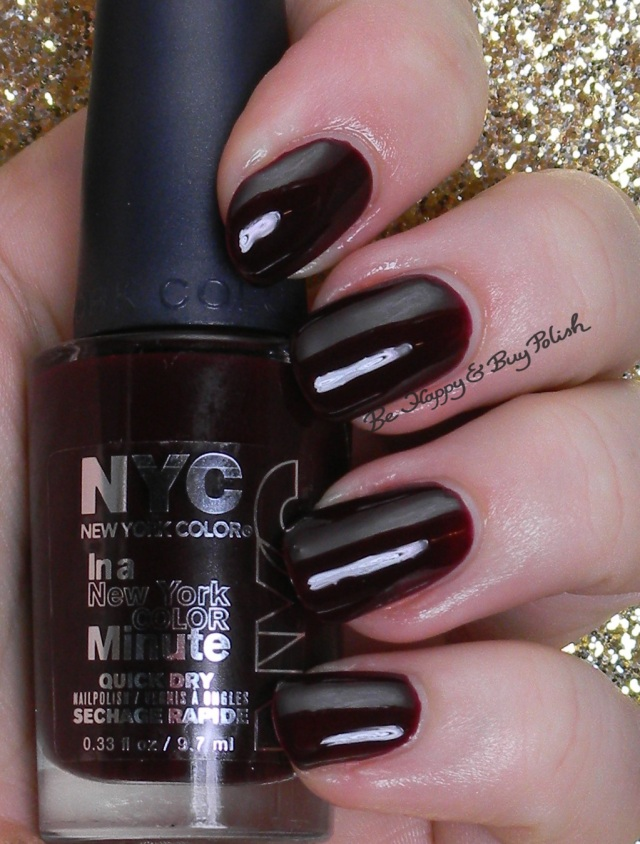 NYC New York Color I Am Not AffRED | Be Happy And Buy Polish