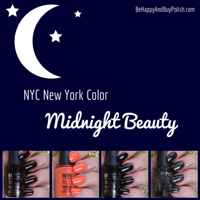 NYC New York Color Midnight Beauty collection | Be Happy And Buy Polish
