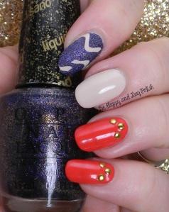 OPI Cajun Shrimp, Alcatraz Rocks, My Vampire is Buff | Be Happy And Buy Polish