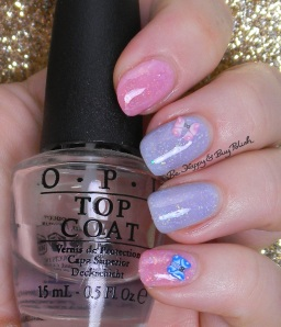 Pregnancy + Infant Los | OPI Don't Burst My Bubble, Better Be Blue, I Lily Love You | Be Happy And Buy Polish