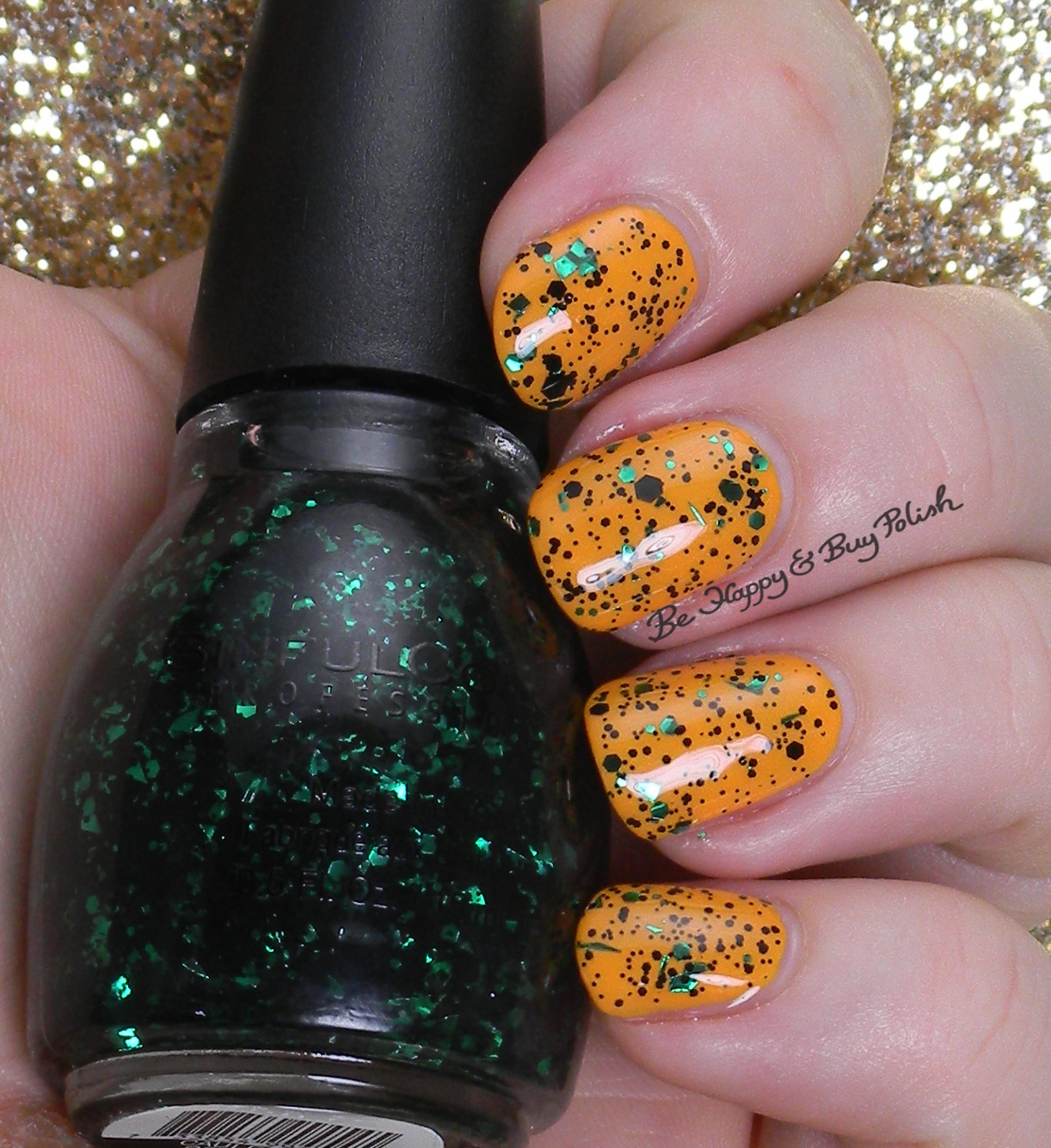 Sinful Colors Halloween Glitter Nail Polishes Be Happy And Buy Polish