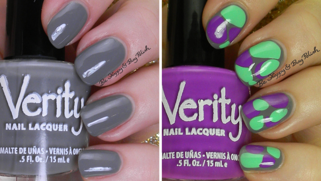 Verity Lite Grey, Soft Green, Periwinkle | Be Happy And Buy Polish