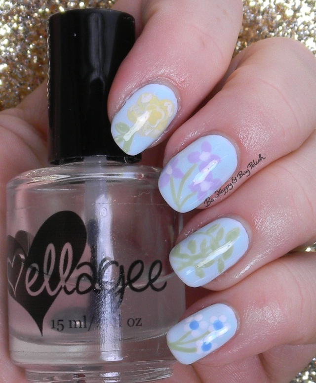 China Plate pattern nail art | Be Happy And Buy Polish