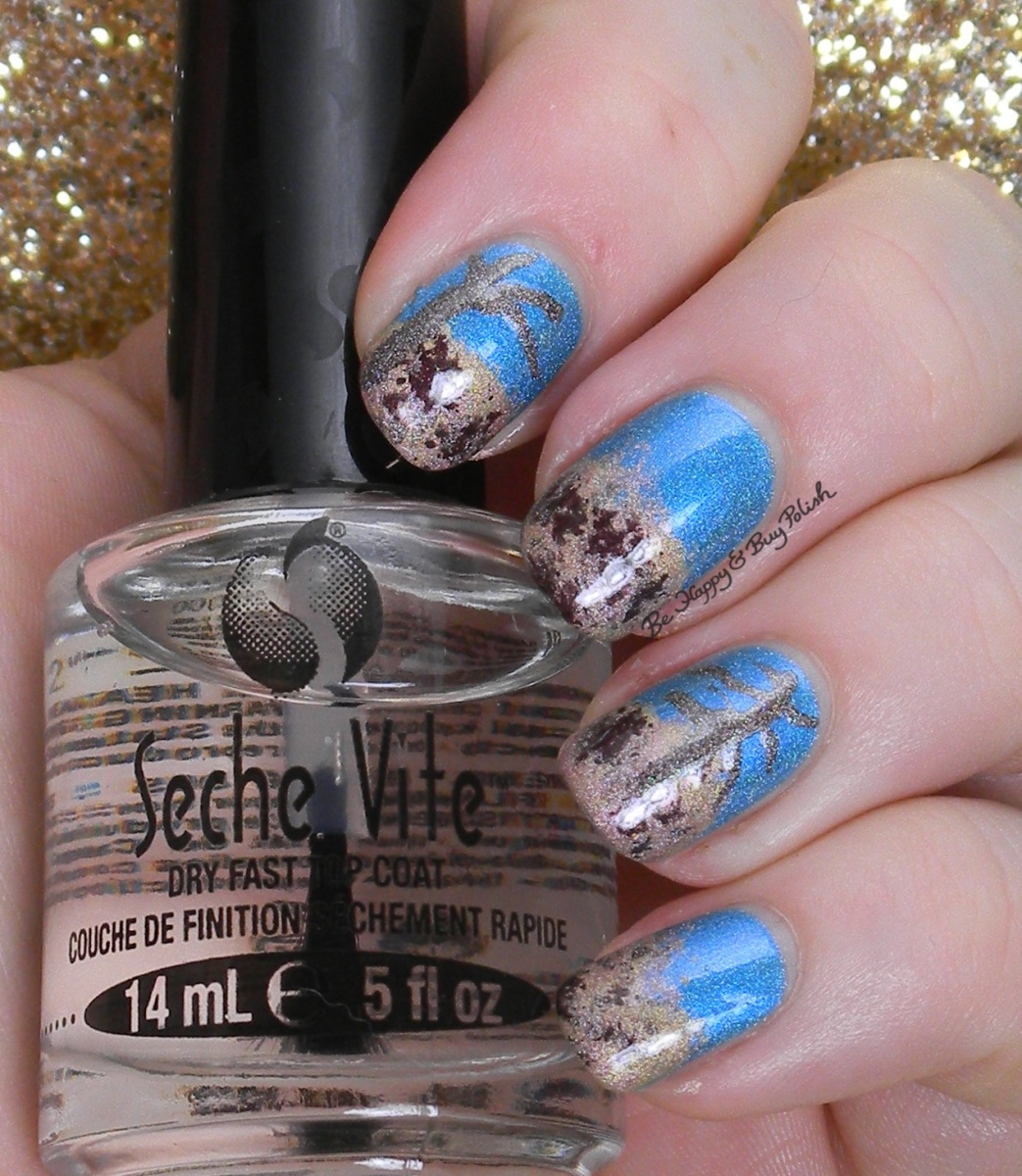 Fall Ing For Nail Art Challenge Fall Leaves Trees Be