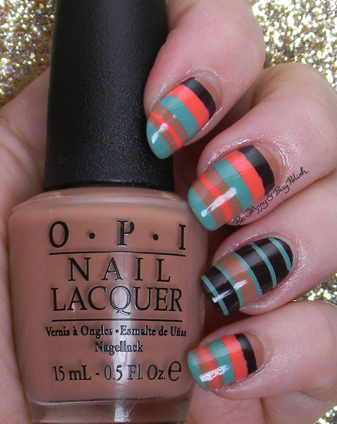 Fall-ing For Nail Art Challenge: Fall colors | Be Happy and Buy Polish