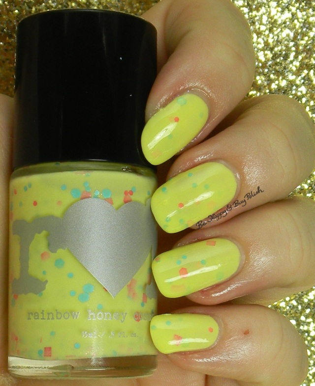 rainbow honey petit four | Be Happy And Buy Polish