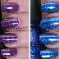 Sinful Colors glitter nail polishes