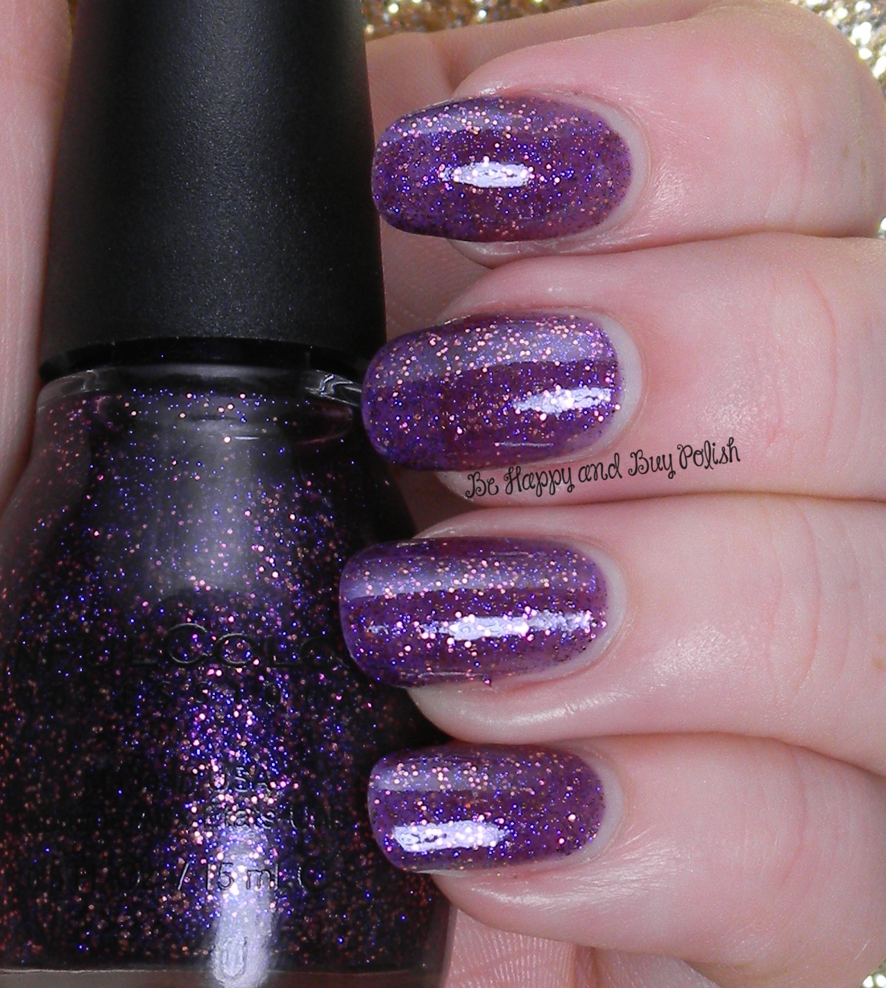 Shimmer And Sparkle Nail Polish: Sinful Colors Glitter Nail Polishes