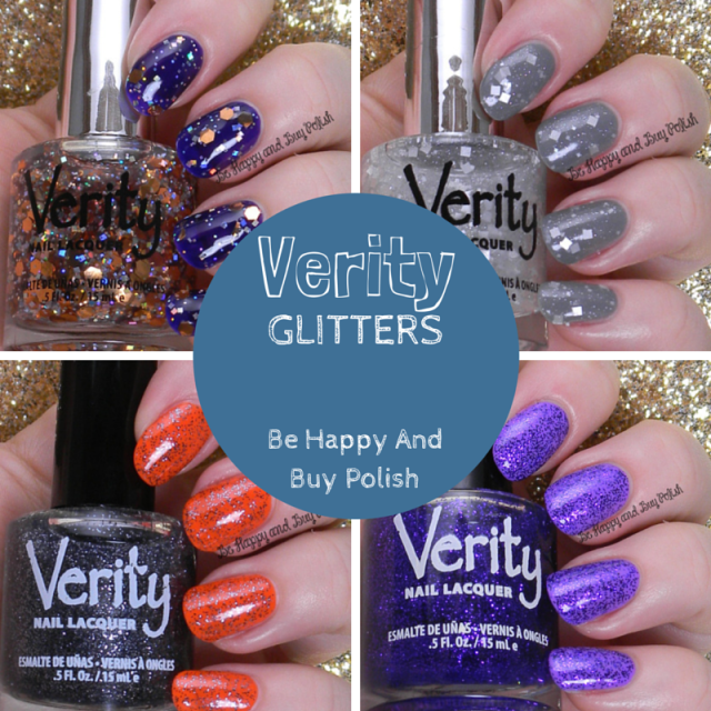 Verity Glitters | Be Happy And Buy Polish