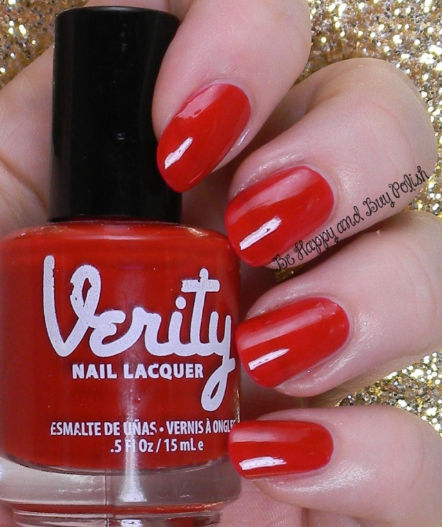 Verity Hot Red | Be Happy And Buy Polish