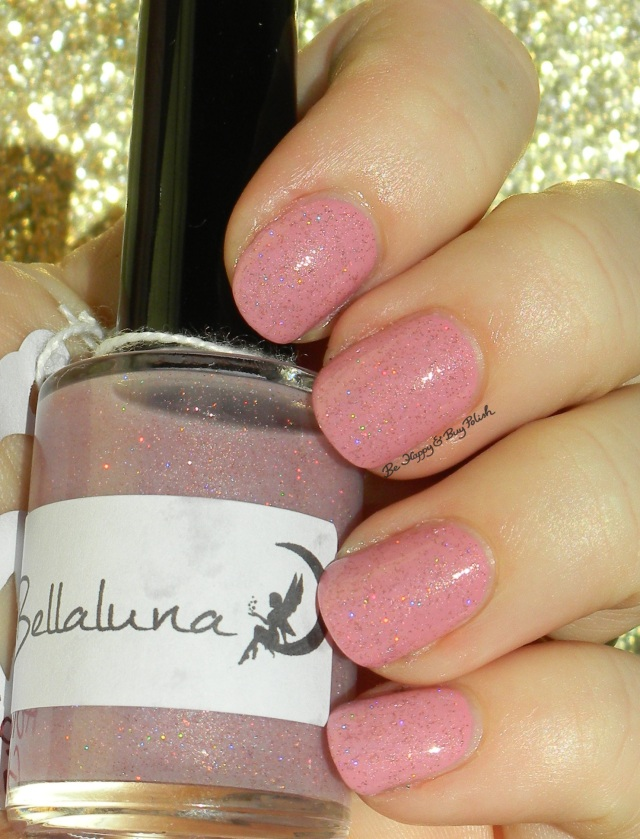 Bellaluna Cosmetics Holiday Glimmer, OPI Sparrow Me the Drama sunlight | Be Happy And Buy Polish