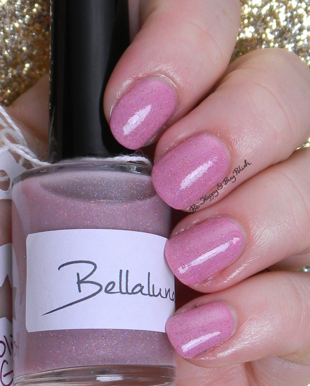 Bellaluna Cosmetics Holiday Glimmer, OPI Sparrow Me the Drama | Be Happy And Buy Polish