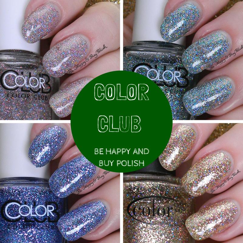 Color Club Nail Polish Glitters | Be Happy and Buy Polish