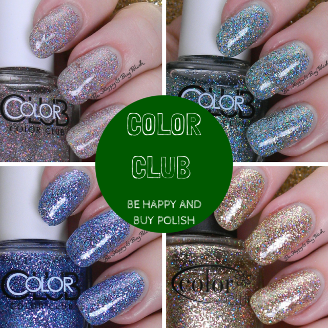 Color Club glitters | Be Happy And Buy Polish