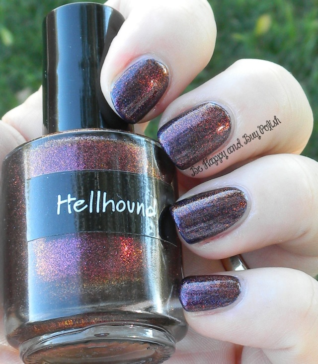 CrowsToes Hellhound over Pahlish My Bespoke Psychopath | Be Happy And Buy Polish