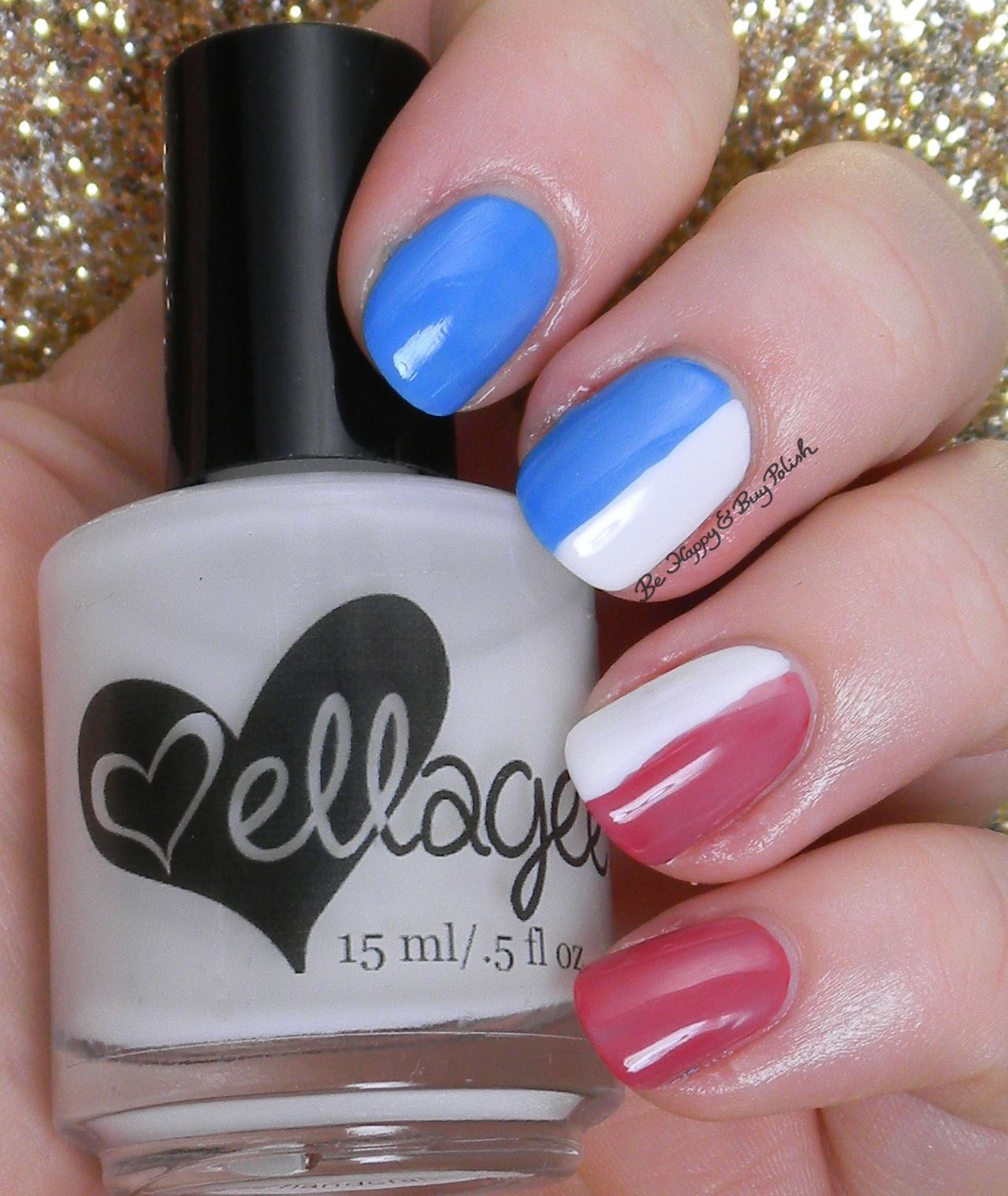 12 Days of Xmas Manis Challenge   Be Happy and Buy Polish